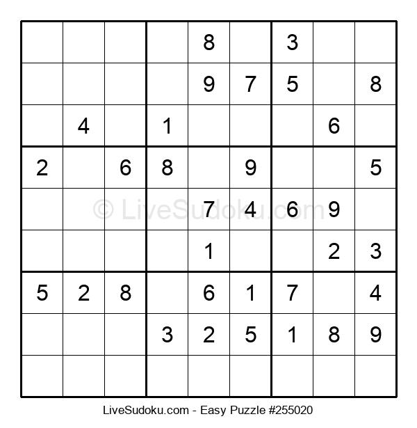 Beginners Puzzle #255020
