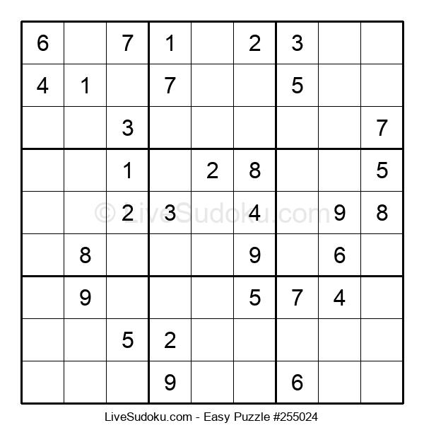 Beginners Puzzle #255024