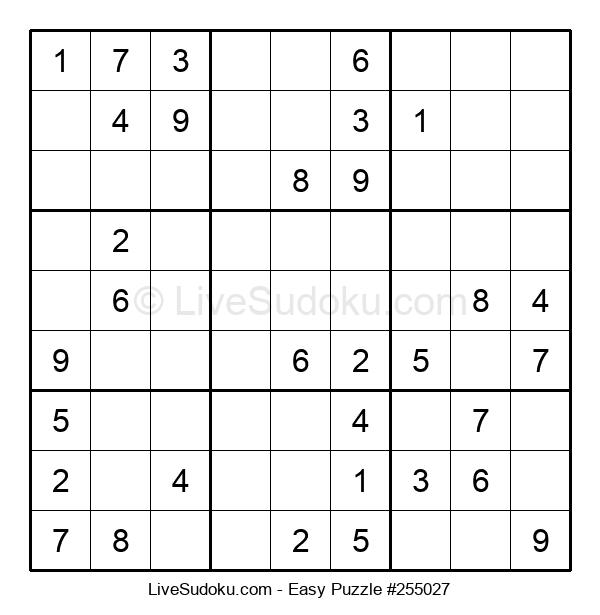 Beginners Puzzle #255027