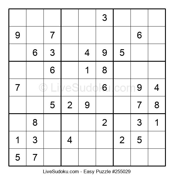Beginners Puzzle #255029