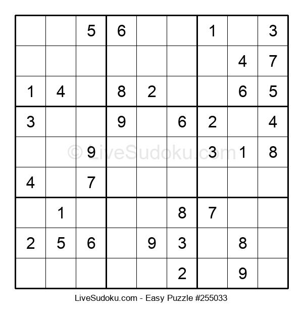 Beginners Puzzle #255033