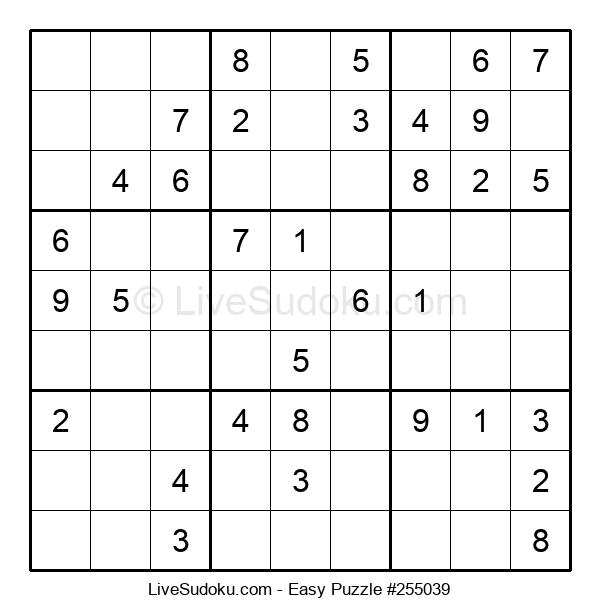 Beginners Puzzle #255039