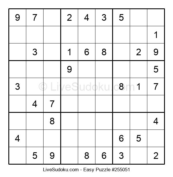 Beginners Puzzle #255051
