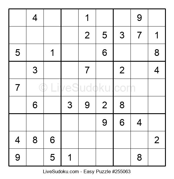 Beginners Puzzle #255063