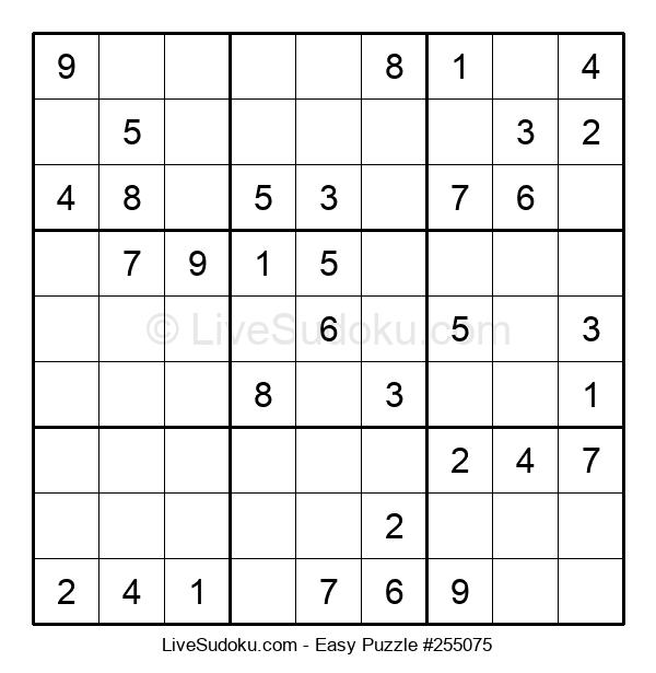 Beginners Puzzle #255075