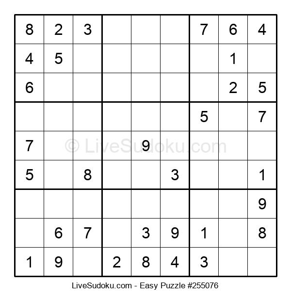 Beginners Puzzle #255076
