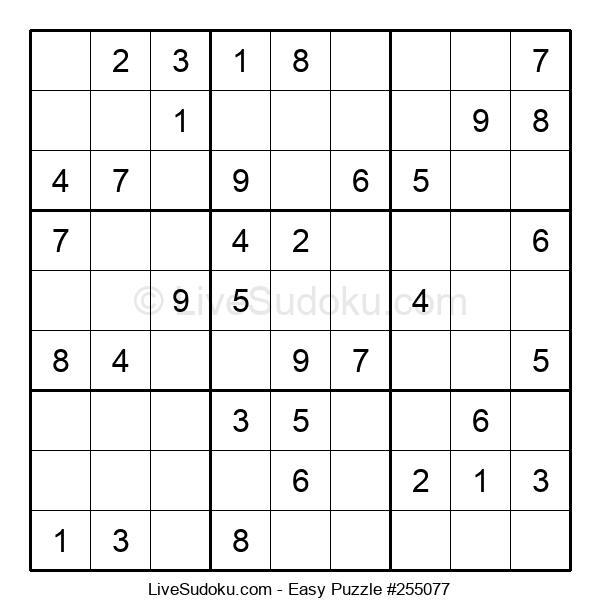 Beginners Puzzle #255077