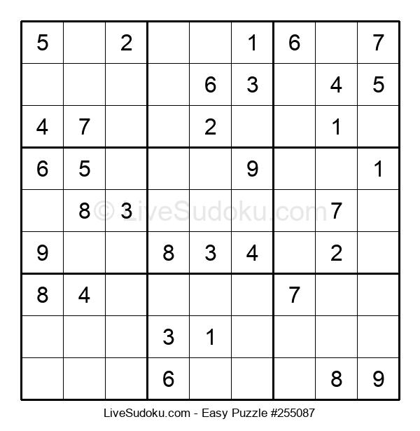Beginners Puzzle #255087