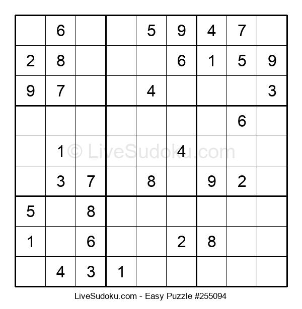 Beginners Puzzle #255094