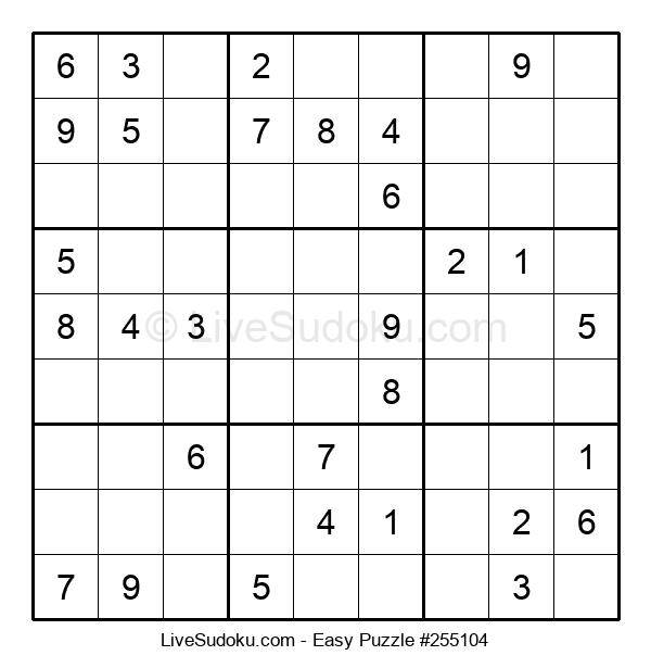 Beginners Puzzle #255104
