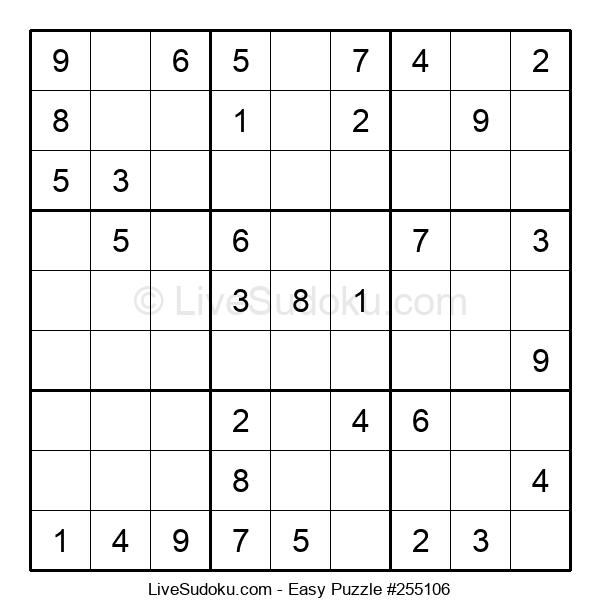 Beginners Puzzle #255106