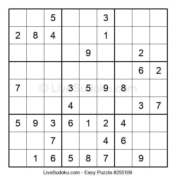 Beginners Puzzle #255108