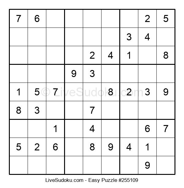 Beginners Puzzle #255109