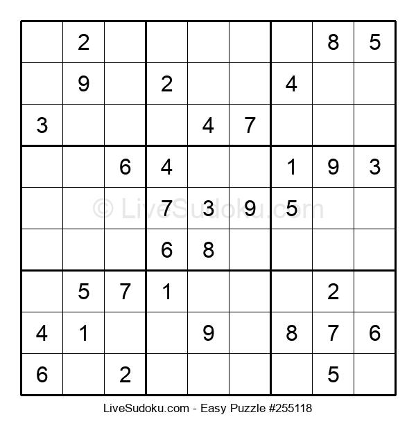 Beginners Puzzle #255118