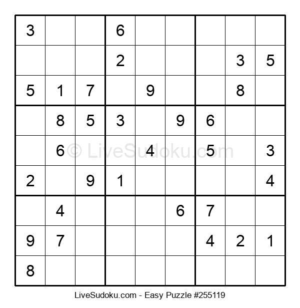 Beginners Puzzle #255119