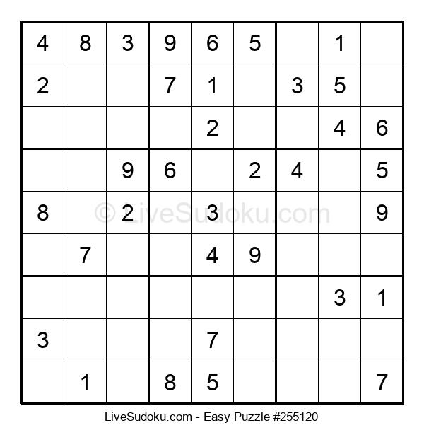 Beginners Puzzle #255120