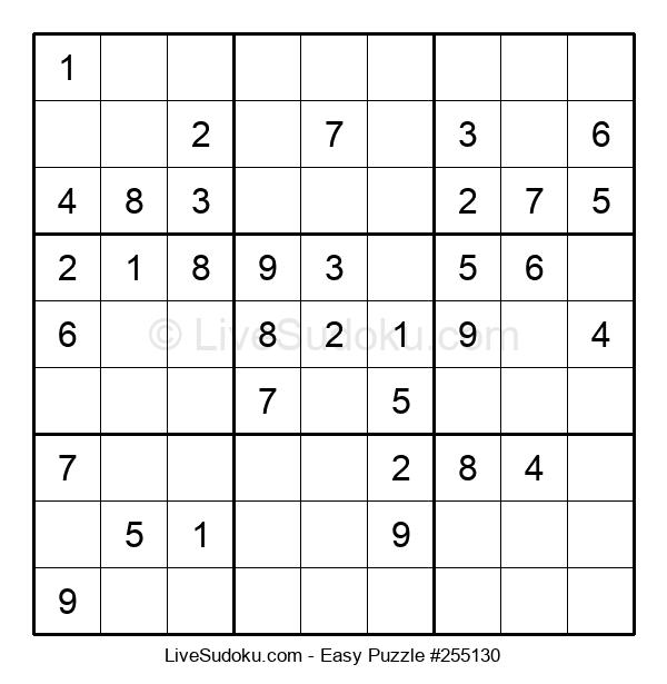 Beginners Puzzle #255130