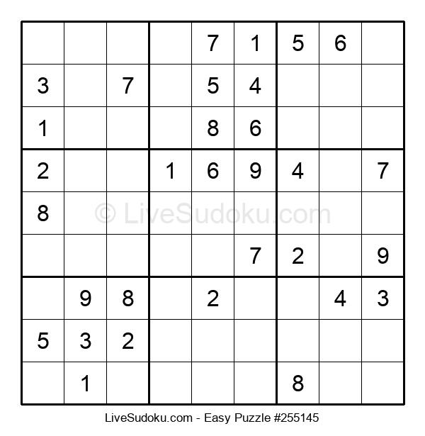 Beginners Puzzle #255145