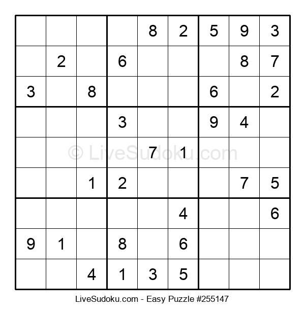 Beginners Puzzle #255147