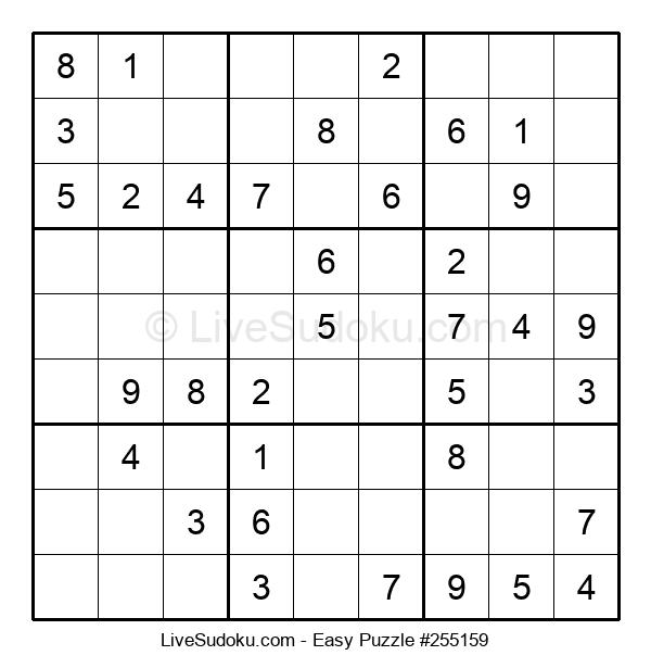 Beginners Puzzle #255159