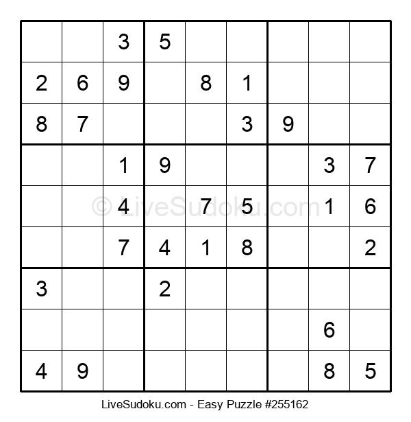 Beginners Puzzle #255162