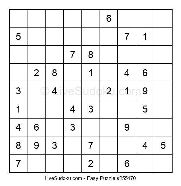 Beginners Puzzle #255170