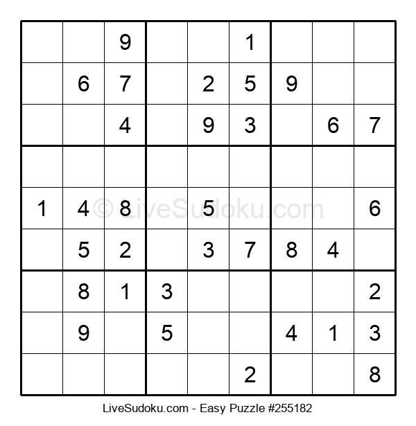 Beginners Puzzle #255182