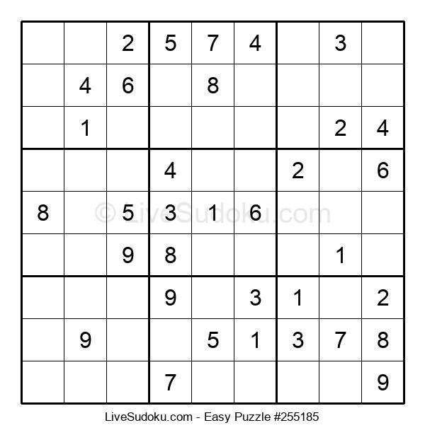 Beginners Puzzle #255185