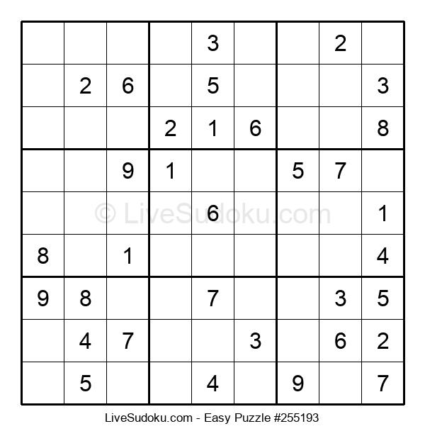 Beginners Puzzle #255193