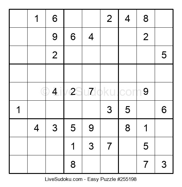 Beginners Puzzle #255198