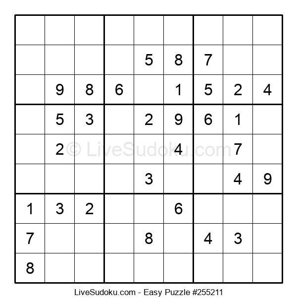 Beginners Puzzle #255211