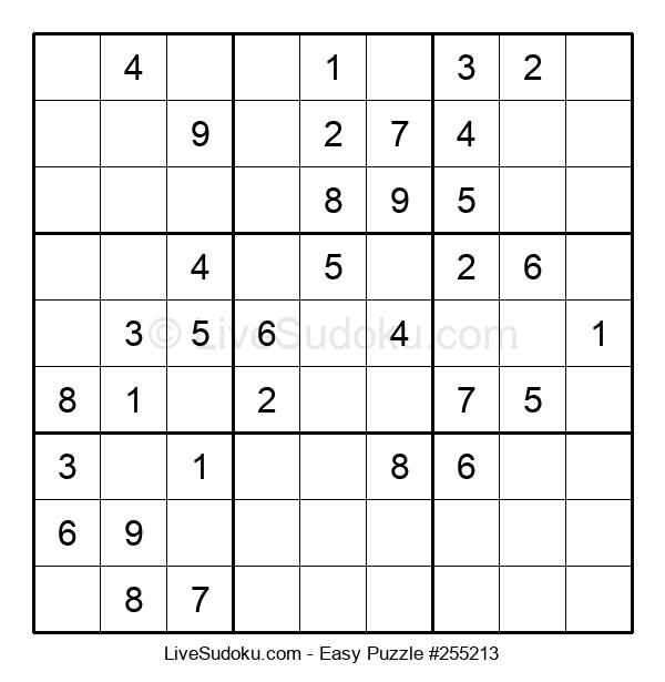 Beginners Puzzle #255213