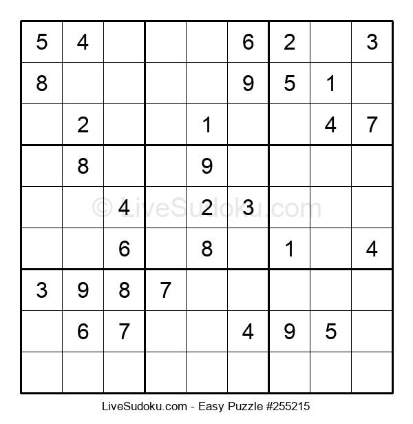 Beginners Puzzle #255215