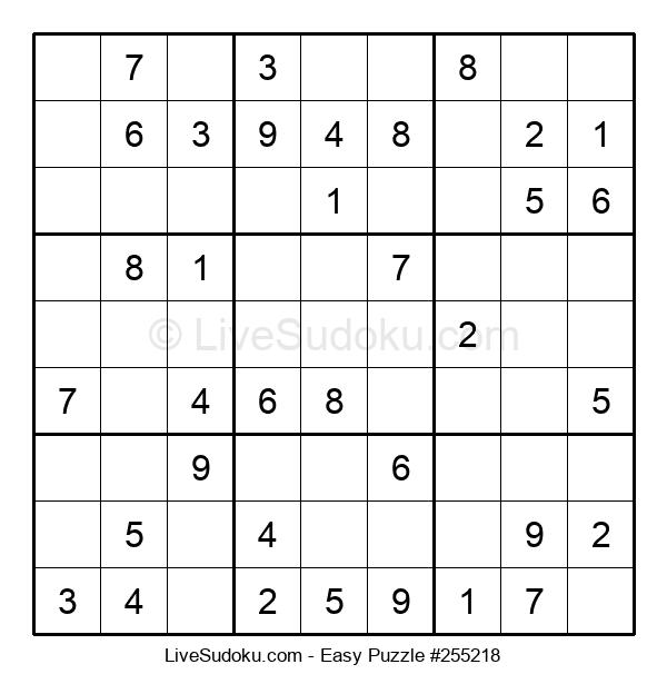 Beginners Puzzle #255218