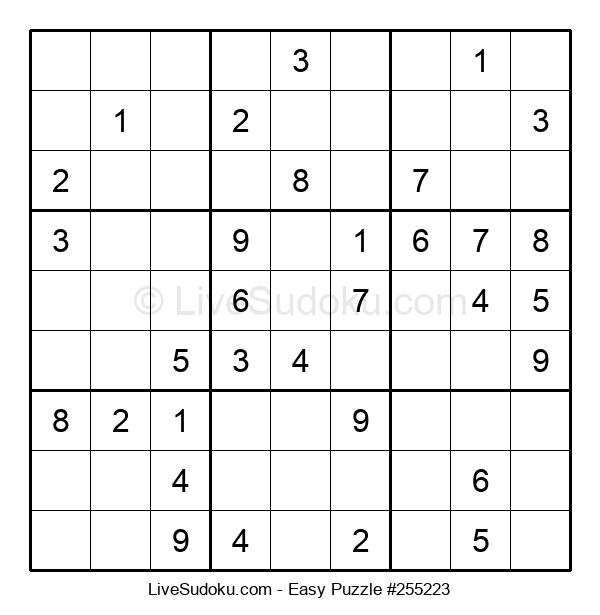 Beginners Puzzle #255223