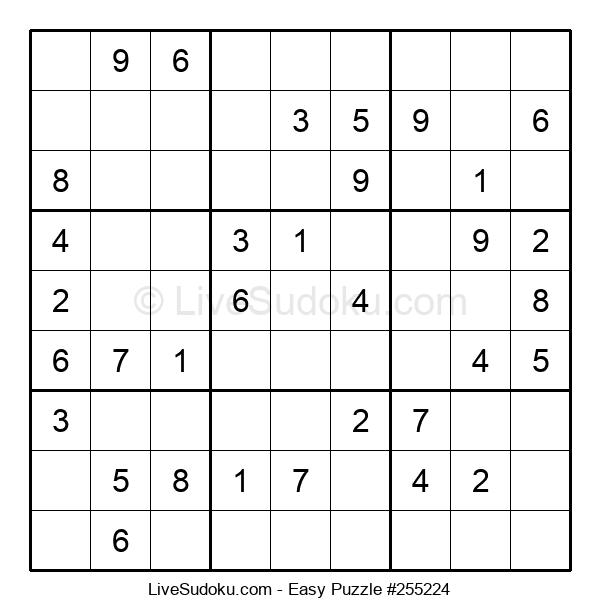 Beginners Puzzle #255224