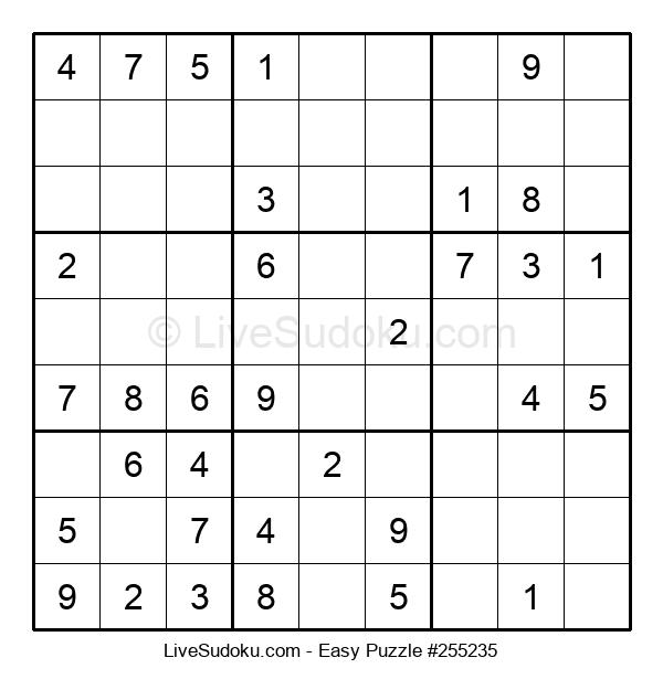 Beginners Puzzle #255235