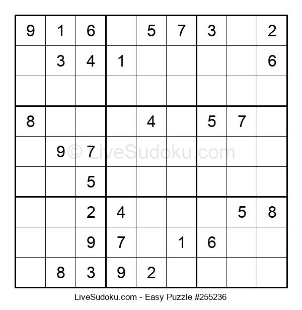 Beginners Puzzle #255236