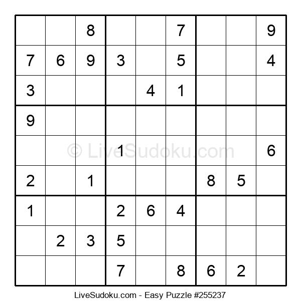 Beginners Puzzle #255237