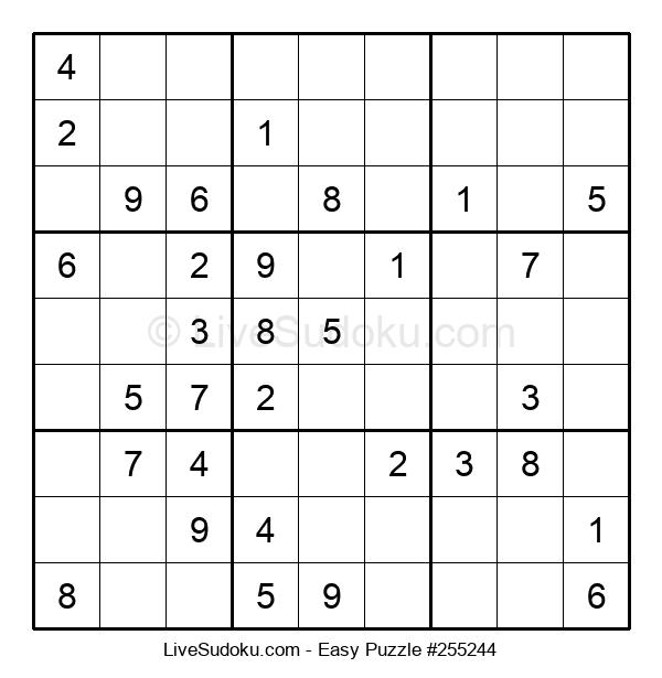 Beginners Puzzle #255244