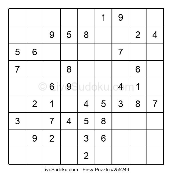 Beginners Puzzle #255249