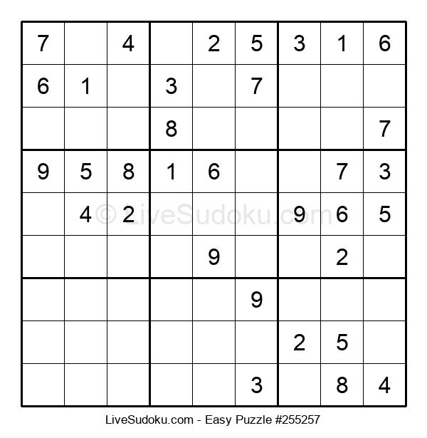 Beginners Puzzle #255257