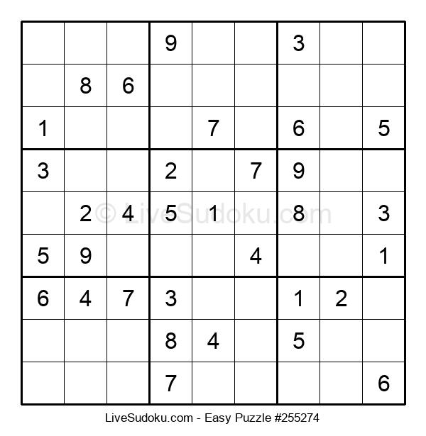 Beginners Puzzle #255274