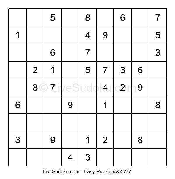 Beginners Puzzle #255277