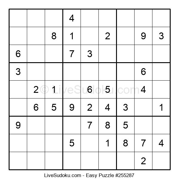 Beginners Puzzle #255287