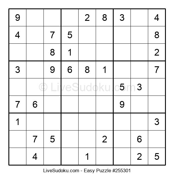 Beginners Puzzle #255301