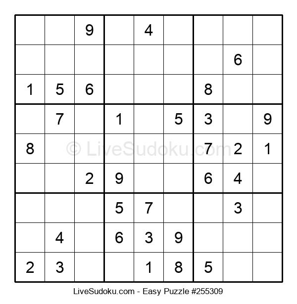 Beginners Puzzle #255309