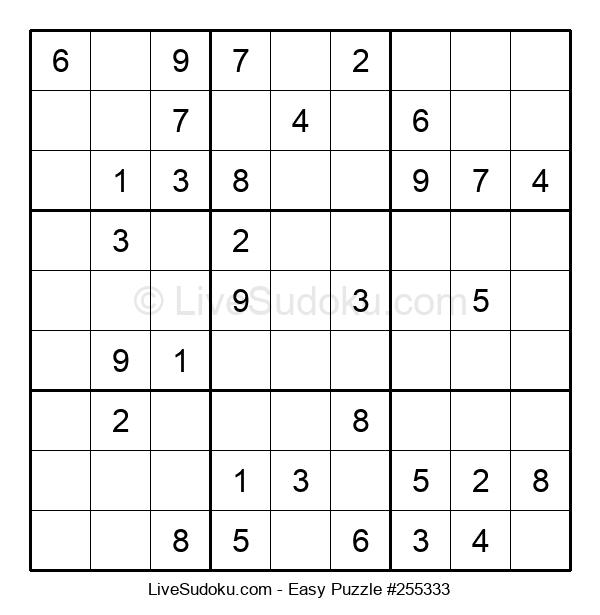 Beginners Puzzle #255333