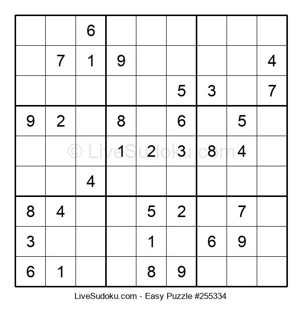 Beginners Puzzle #255334
