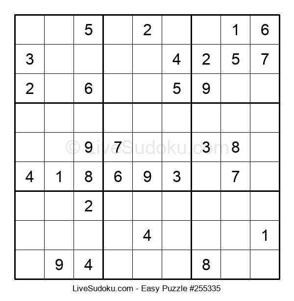 Beginners Puzzle #255335